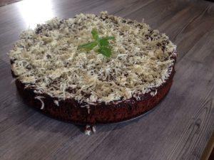 עוגת מוס שוקולד ללא קמח מתכון