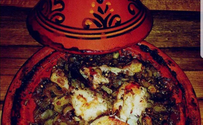 קדרת (טאג'ין) עוף בריבת בצל מתכון של תומר תומס