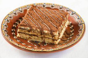 עוגת ביסקוויטים מתכון