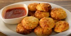 כדורי גבינה וכרובית מתכון