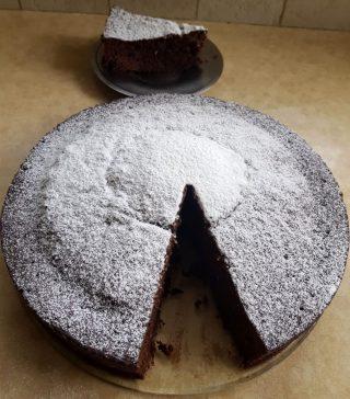עוגת שוקולד מהירה במיקרו