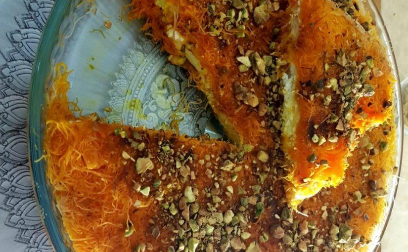 קדאיף גבינה מתכון של תומר תומס
