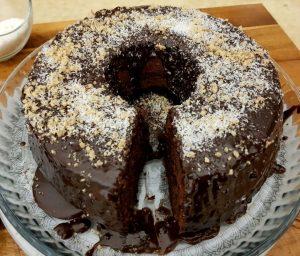 עוגת שוקולד מהירה עם קוקוס- תומר תומס