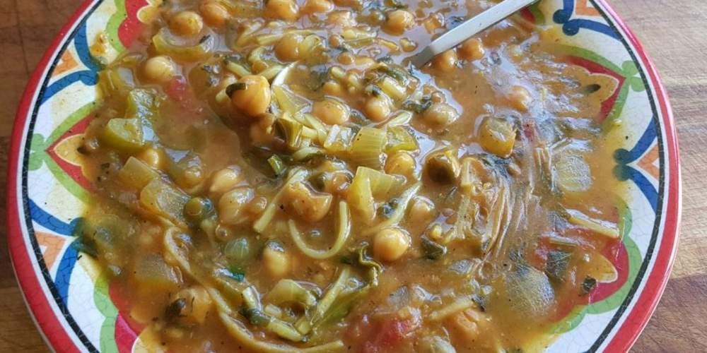מרק חרירה מרוקאי מתכון של תומר תומס