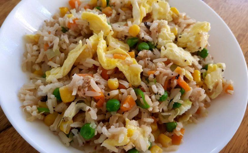 אורז מטוגן עם ירקות מתכון של תומר תומס
