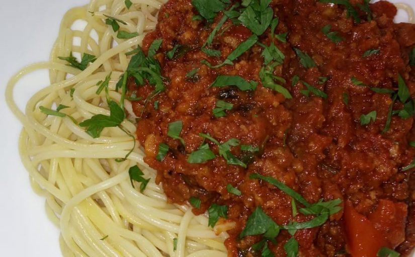 ספגטי בולונז מתכון