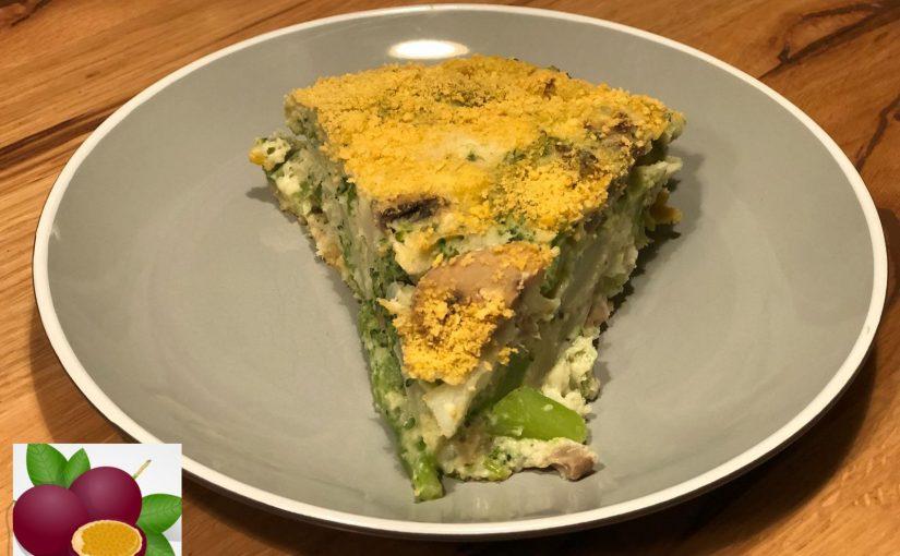 פשטידת ירקות פרווה מתכון כולל סרטון של אורית לוי