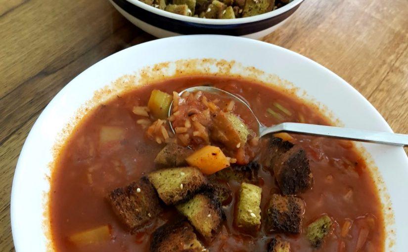 מרק עגבניות פיקנטי של תומר תומס כולל סרטון