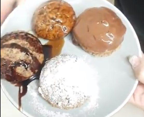 מאפינס חלבה ושוקולד מתכון של אורית לוי