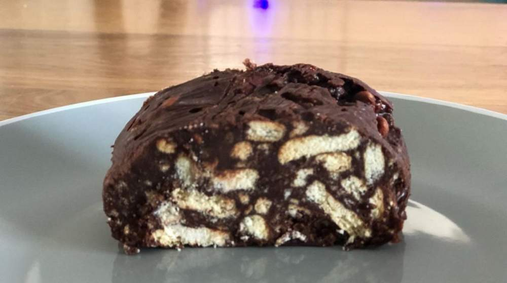 נקניק שוקולד מתכון