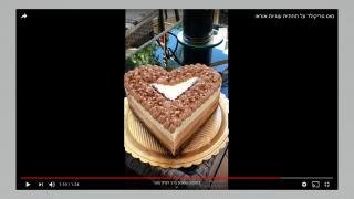 עוגת טריקולד מתכון