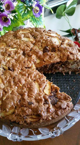 עוגת תפוחים מתכון