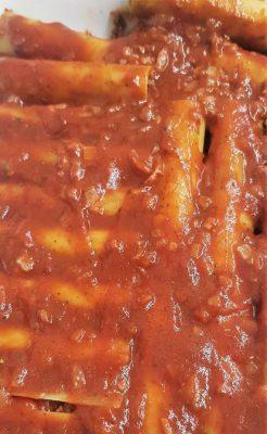 קנלוני במילוי בשר