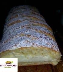 עוגת שמרים גבינה