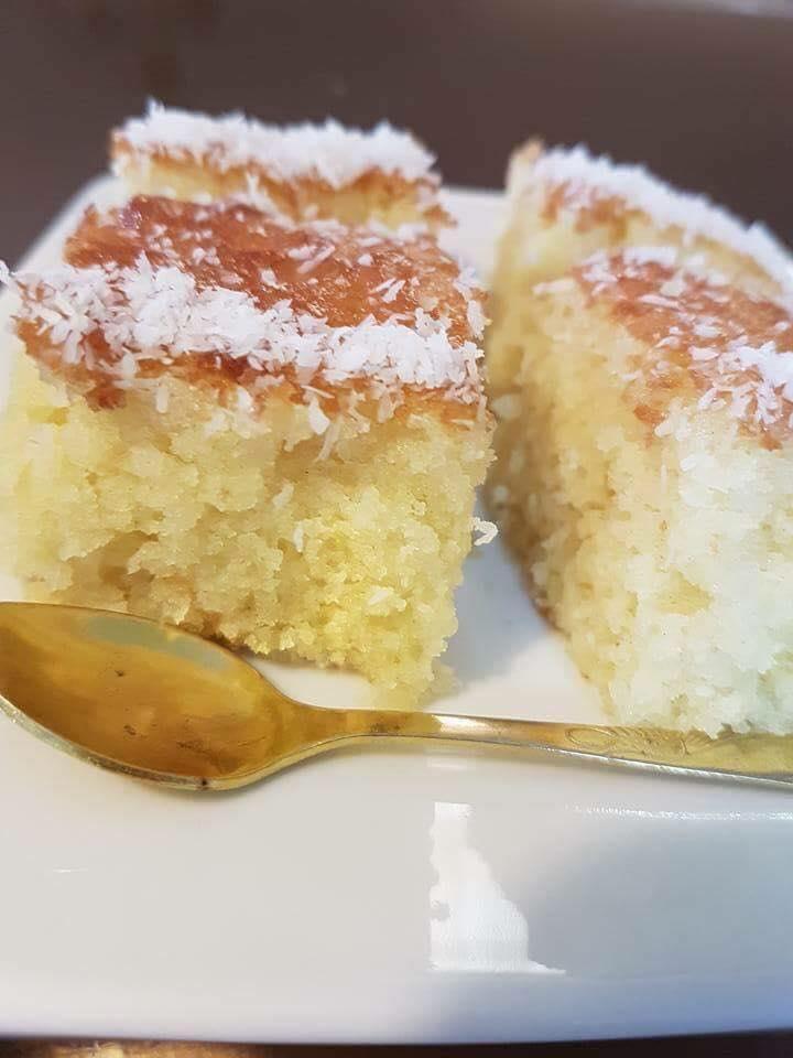 עוגת תפוזים קוקוס