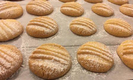 עוגיות בטעם חמאה דניות