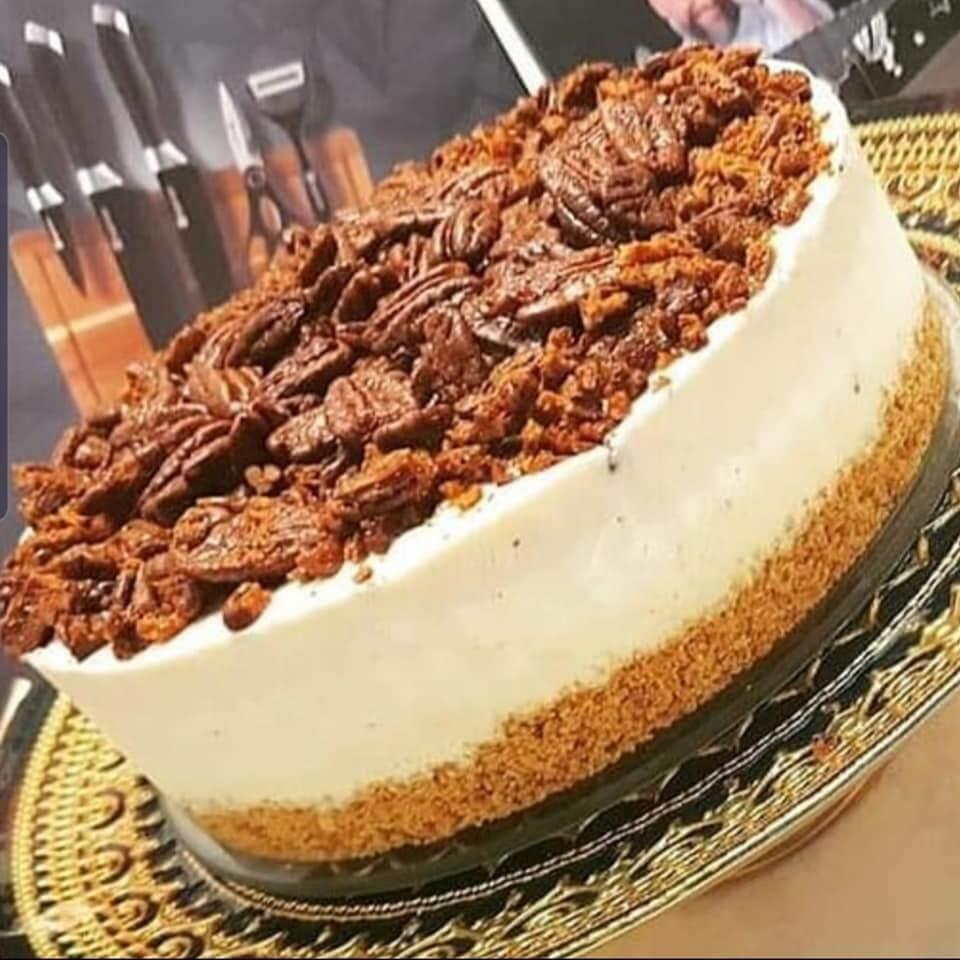 עוגת גלידה פקאן מתכון מושלם