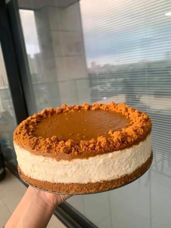 עוגת לוטוס מסקרפונה