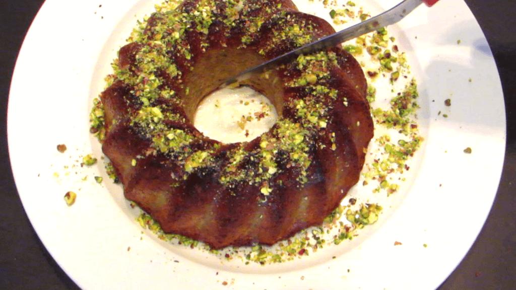 עוגת קוקוס לימון עם שמן זית