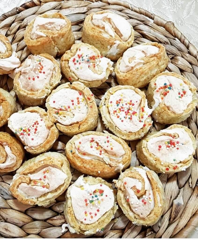 עוגיות שושנים מתכון
