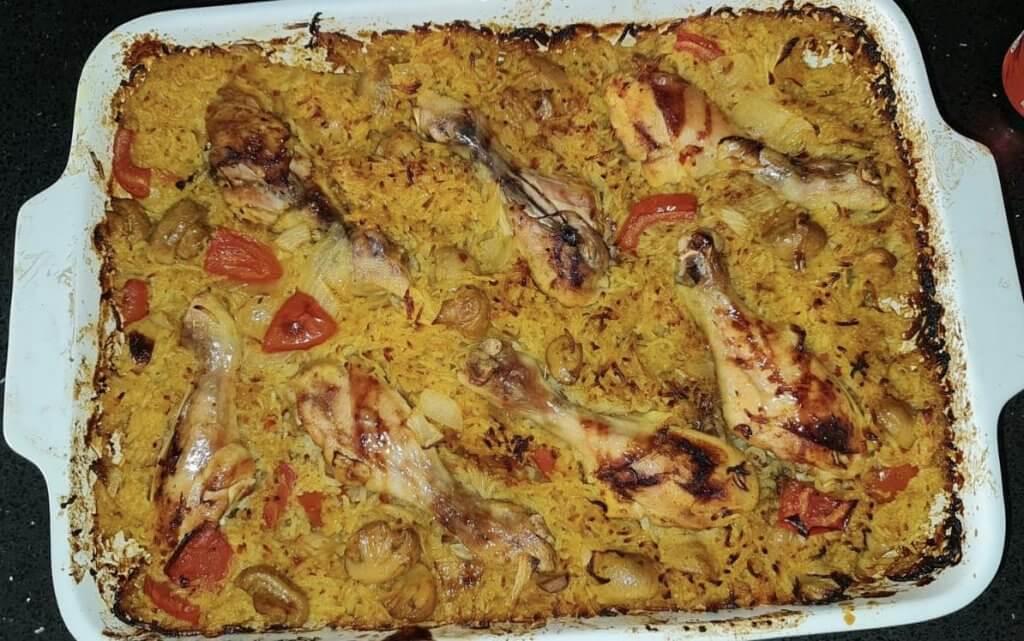 שוקי עוף ואורז