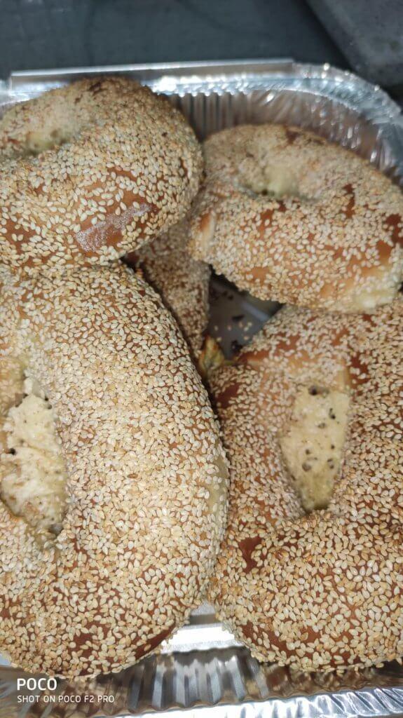 בייגל ירושלמי ממולא גבינות