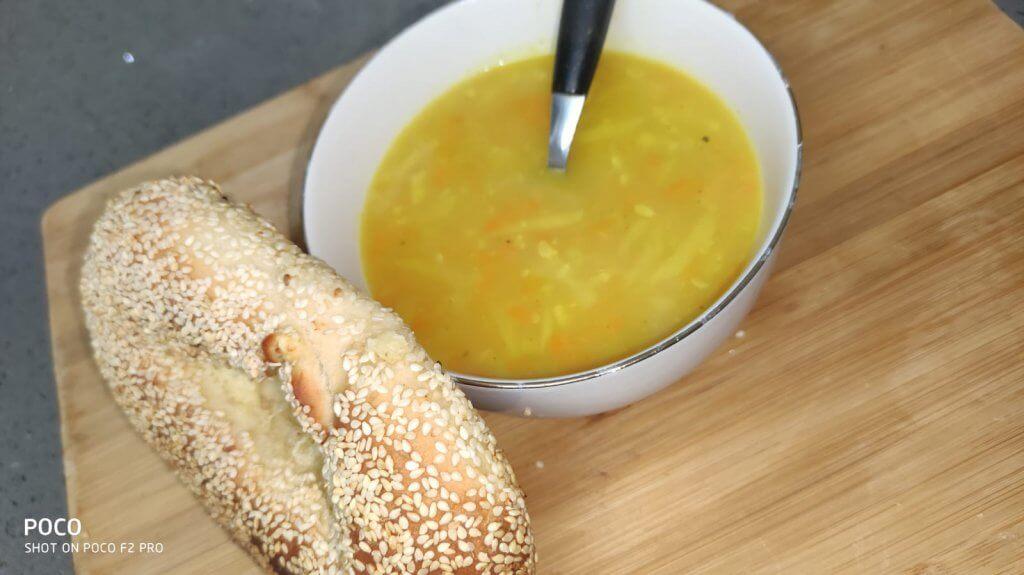 מרק גריסי פנינה - מרק גריסים
