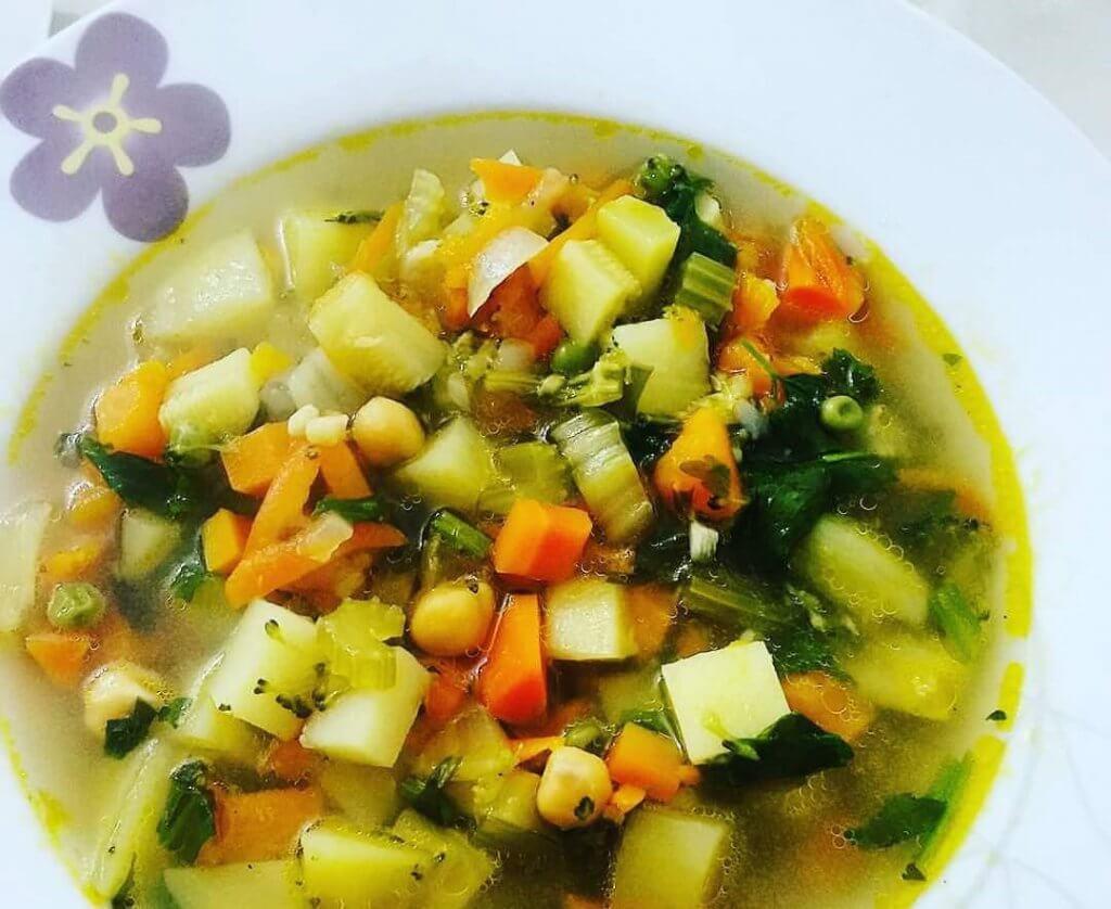 מרק ירקות מפנק