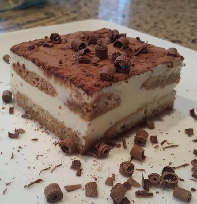 עוגת טירמיסו מוצלחת