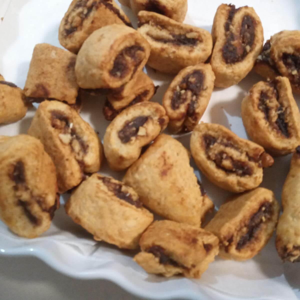 עוגיות פריכות עם מילוי