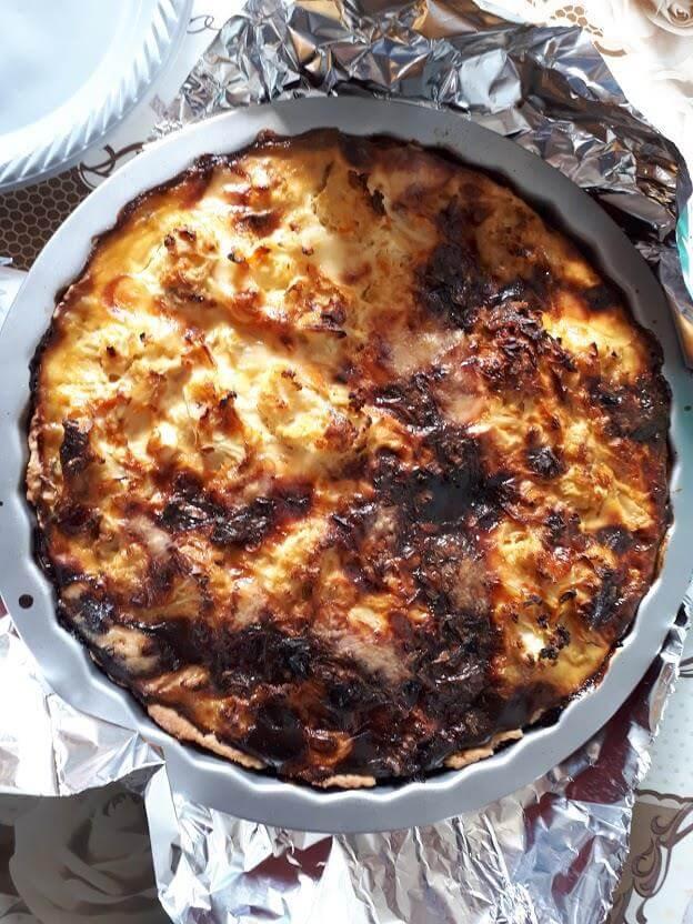 פאי כרובית עם גבינות