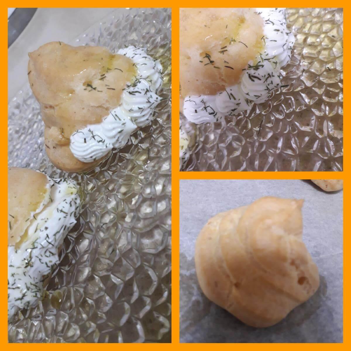 פחזניות ממולאות גבינות