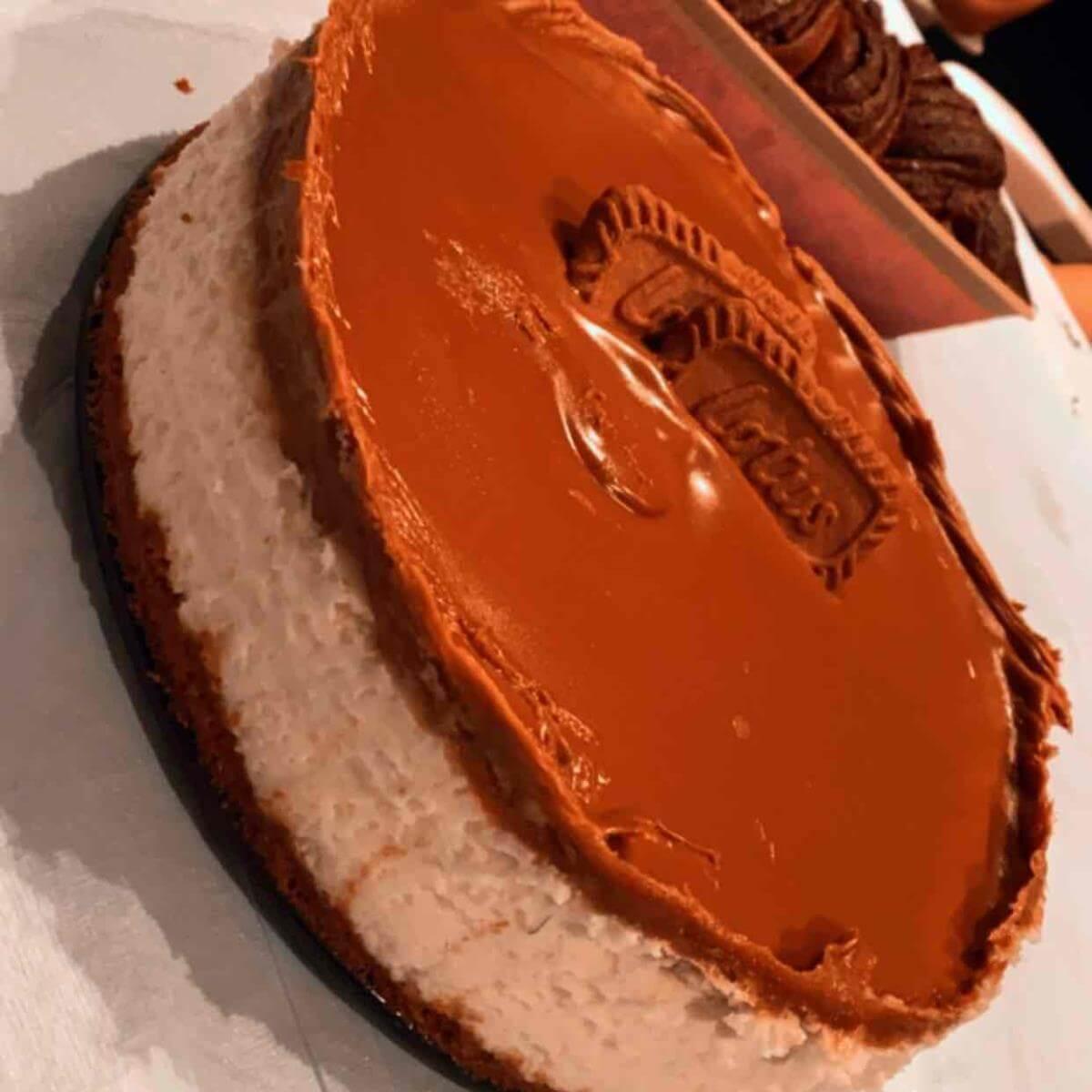 עוגת מסקרפונה לוטוס