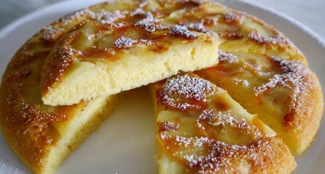 עוגת תפוחים משגעת