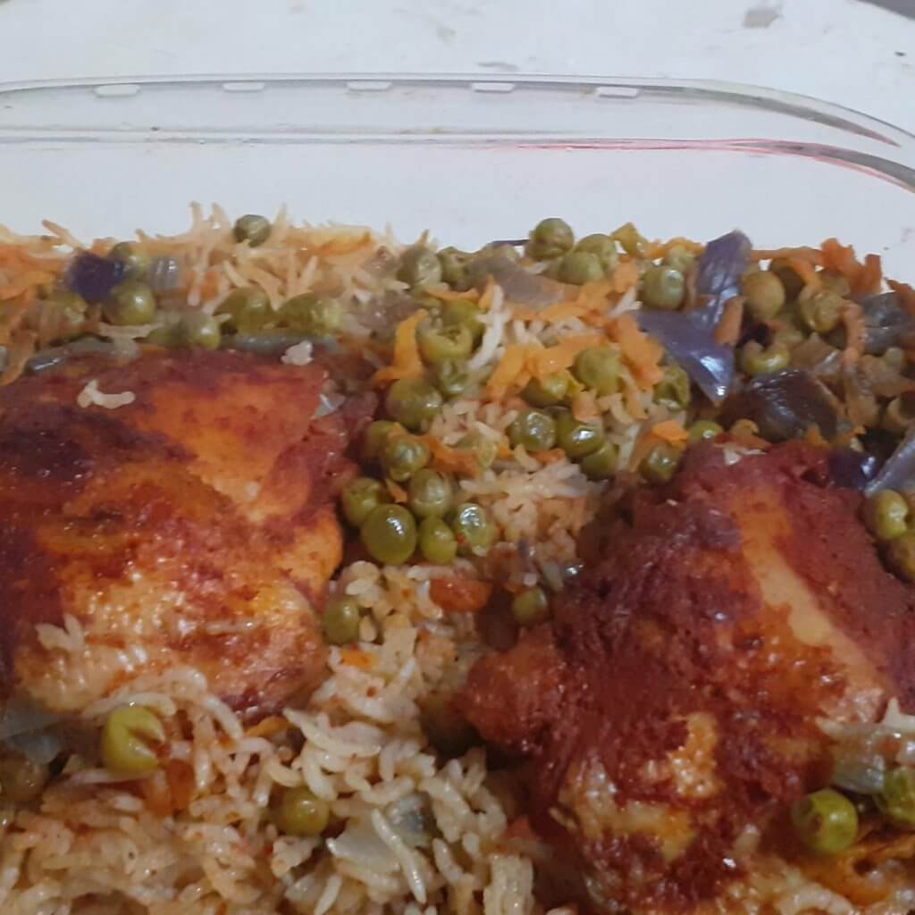 עוף עם אורז