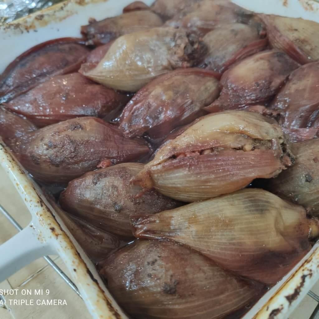 בצלים ממולאים בשר מתכון