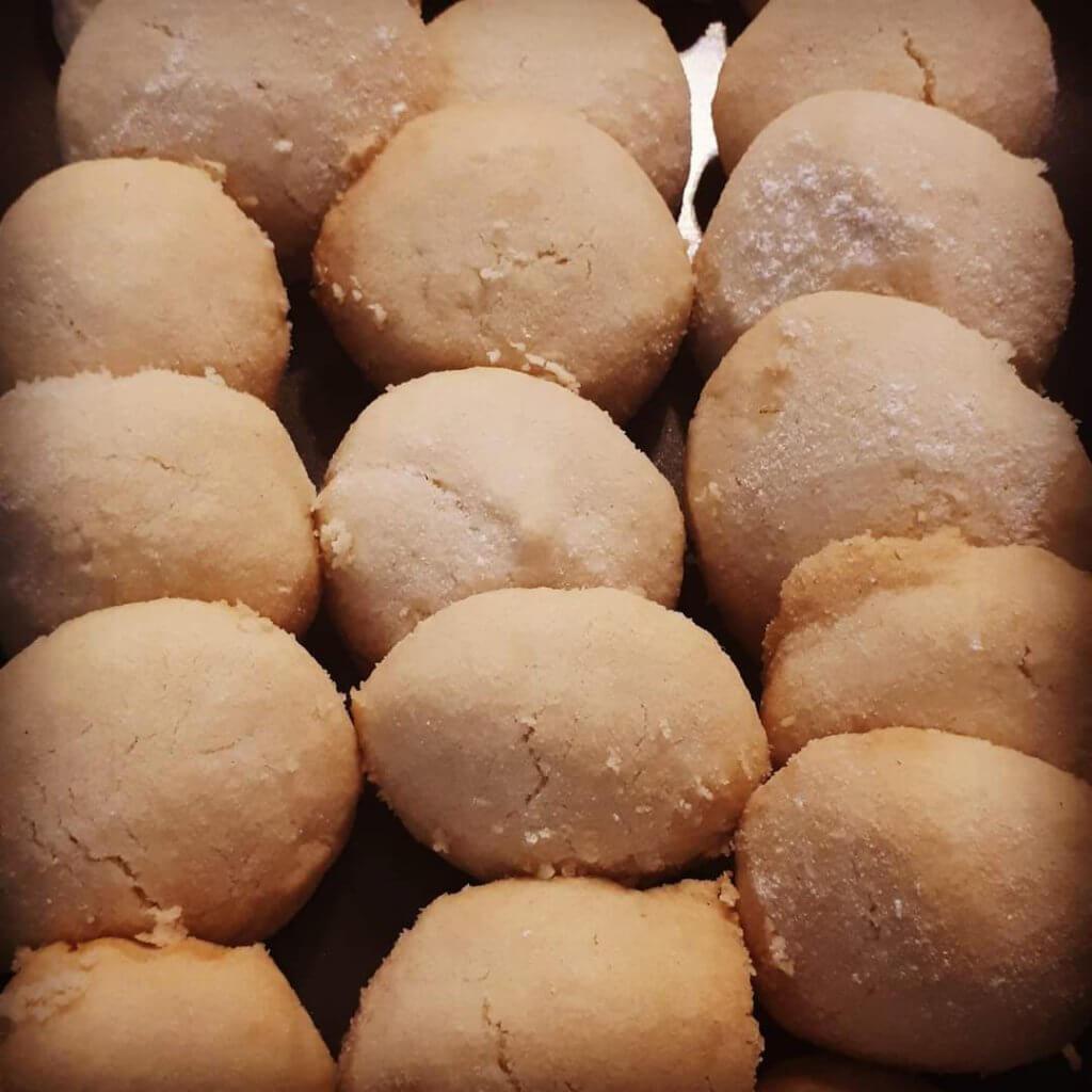 עוגיות חמאה נמסות בפה מתכון