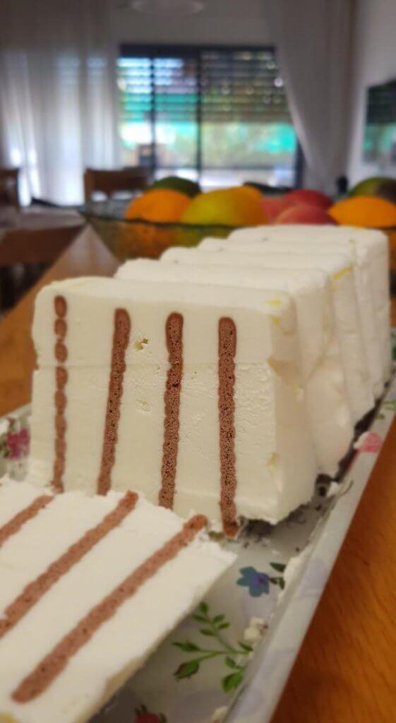 עוגת זברה מתכון