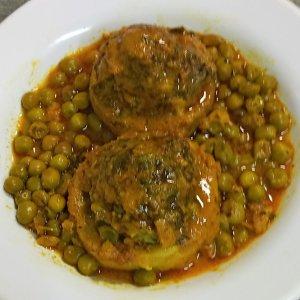 ארטישוק ממולא בשר