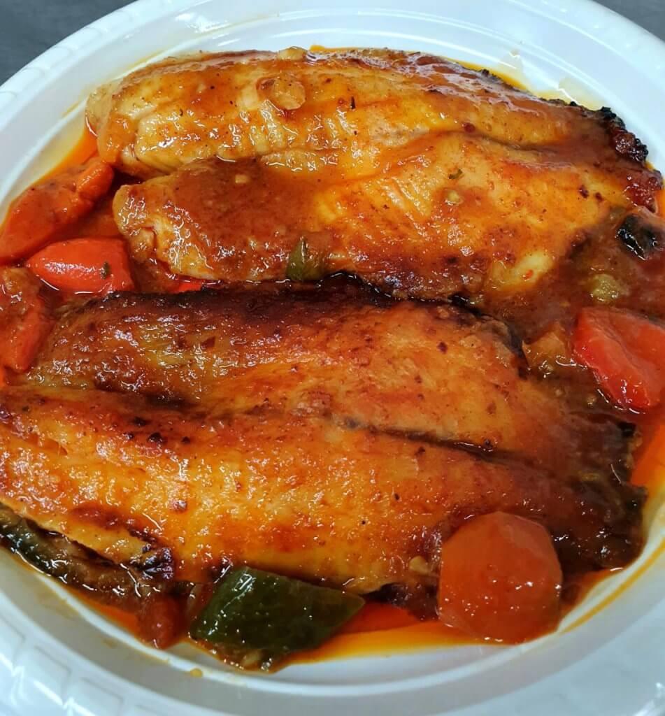 דג בתנור מתכון
