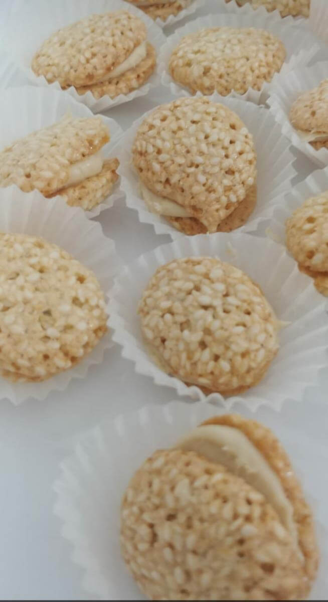 עוגיות שומשום מתכון
