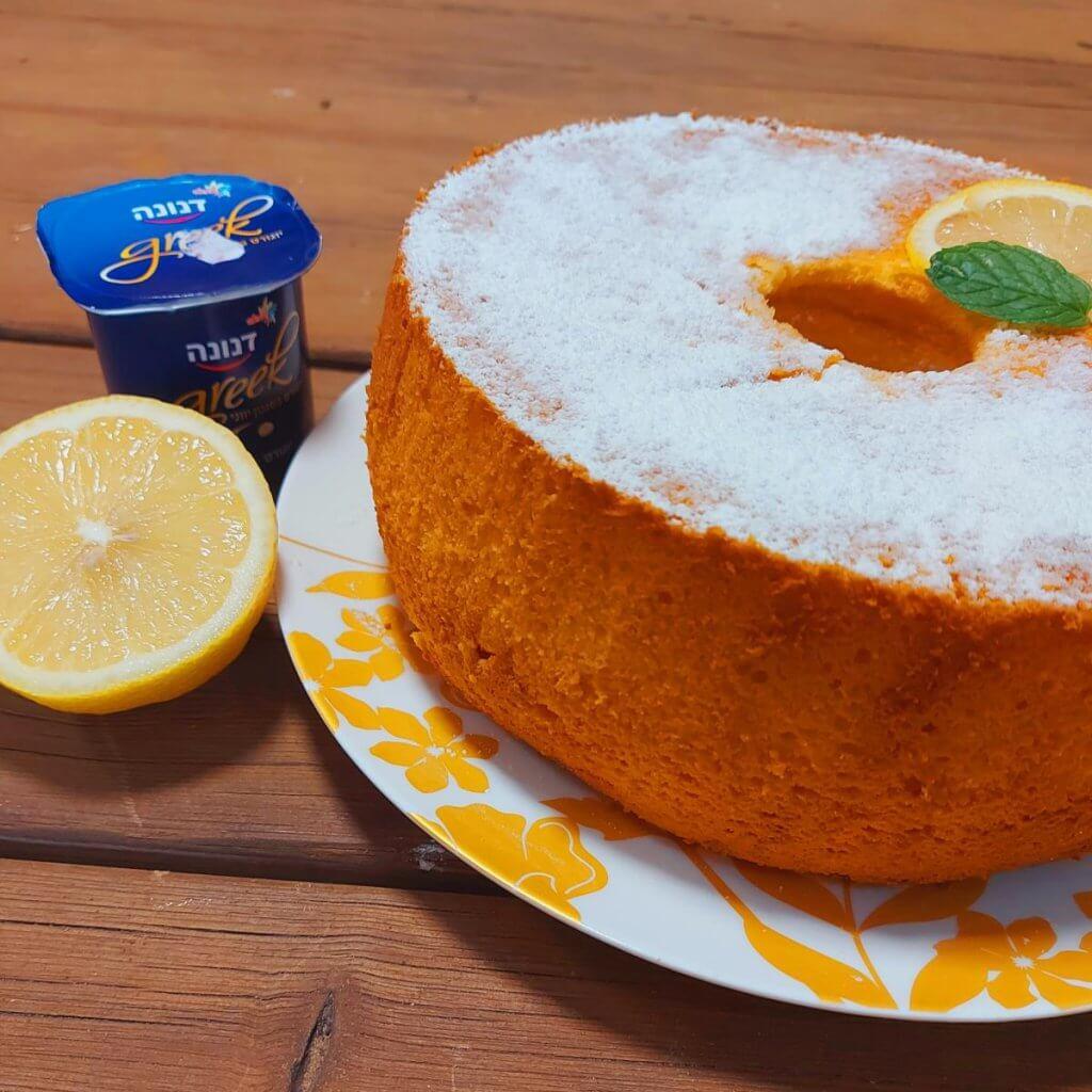 עוגת יוגורט לימון