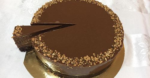 עוגת מוס שוקולד פרווה
