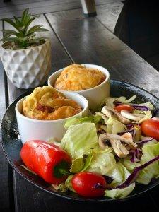 מאפינס גבינות ופטריות