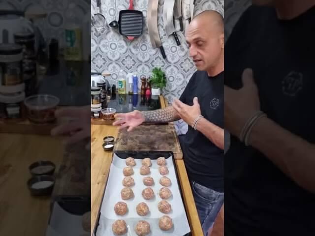קציצות בשר ברוטב בתנור